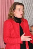 Ingrid Hack während ihres Vortrags