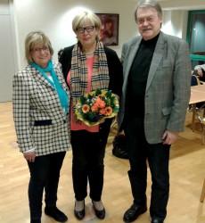 Rosi Brucjmann, Heidemarie Niegeloh, Holger Tesmann (v.l.n.r.)