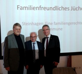 v.l.n.r. Holger Tesmann, Klaus Besser, Hans Christian Markert
