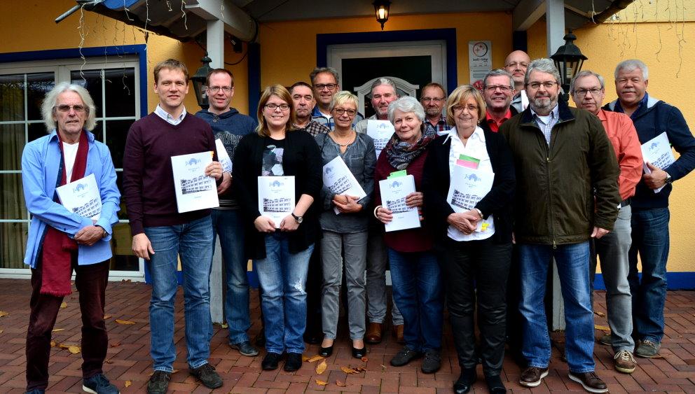 SPD-Fraktion bei der Haushaltsklausur im November 2016 in Wassenberg-Effeld